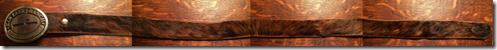 Cowhide-belt