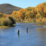 fly fishing - part of our all inclusive Colorado vacation