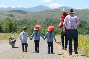 cowboy walk