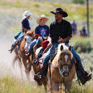 Horseback Riding - part of our all inclusive Colorado vacation